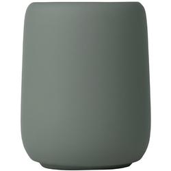 Kubek ceramiczny na szczoteczki do mycia zębów blomus sono agave green b69073