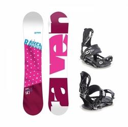 Zestaw raven style pink 2020 + raven ft 270 black