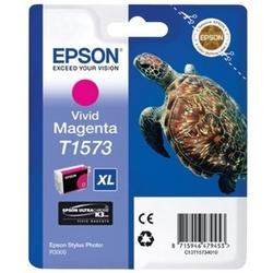 Tusz oryginalny epson t1573 c13t15734010  purpurowy - darmowa dostawa w 24h