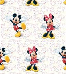Tapeta myszka mini i miki w rolce - disney minnie and miki mouse