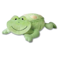 Summer buddies - przytulanka z projektorem i pozytywką - żabka