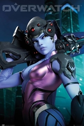 Overwatch widow maker - plakat