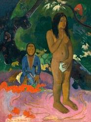 Words of the devil, paul gauguin - plakat wymiar do wyboru: 40x50 cm