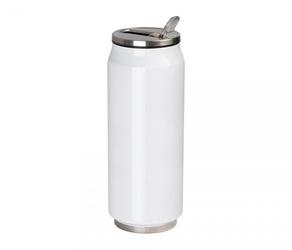 Kubek termiczny puszka 500 ml biały