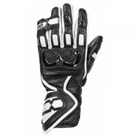 Ixs rękawice skórzane lady rs-200 2.0 blackwhite