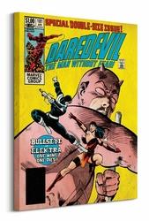 Marvel Comics Daredevil Bullseye vs Elektra - Obraz na płótnie