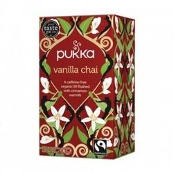 Vanilla chai bio cynamon, słodka wanilia, imbir 20 sasz. pukka