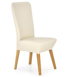 Krzesło drewniane do jadalni vela beżowedąb miodowy