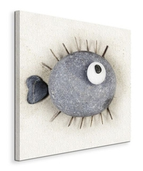Puffafish - obraz na płótnie