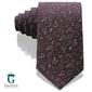 Brązowy włoski krawat jedwabny arcuri 148485