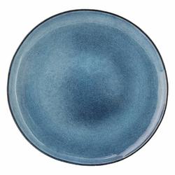 Talerz płaski Sandrine niebieski 28 cm