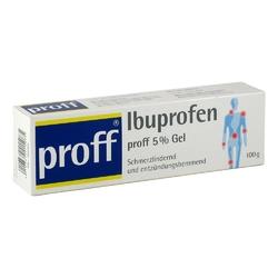 Ibuprofen proff 5 gel