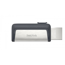 Sandisk pendrive ultra dual drive 256gb usb 3.1 type-c 150mbs