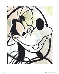Goofy drawing  - reprodukcja