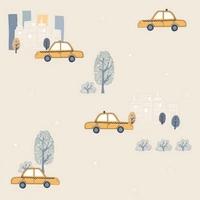 Tapeta samochody auta taxi nd21110 sweet dreams