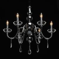 Żyrandol szklany, świecznikowy, kryształy ella mw-light crystal 483014706