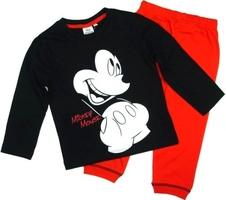 Piżama myszka miki mickey mouse czarna 8 lat