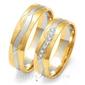 Obrączki ślubne złoty skorpion – wzór au-oe201