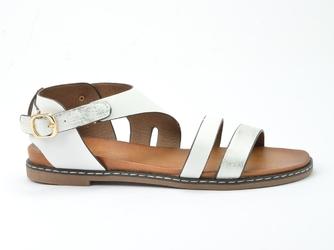 Sandały sergio leone sk013 biały