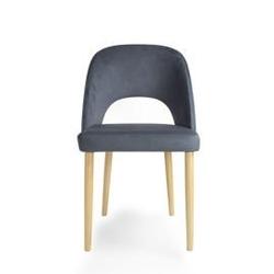 Fameg :: krzesło alora dąb naturalny  tkanina tokyo t118