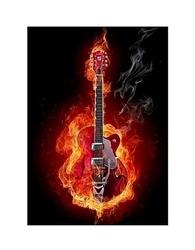 Fire guitar - reprodukcja