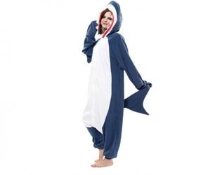 Rekin kigurumi onesie dres piżama kombinezon