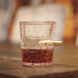 Postrzelona szklanka