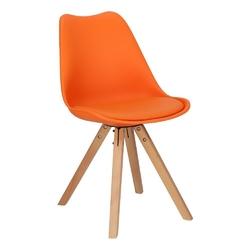 Krzesło norden star square pp pomarańczowy - pomarańczowy