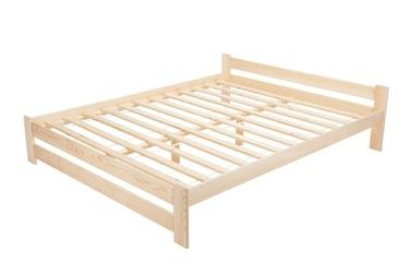 Łóżko drewniane ottawa 140x200 sosnowe