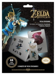 The Legend Of Zelda Breath Of The Wild - naklejki na laptopa