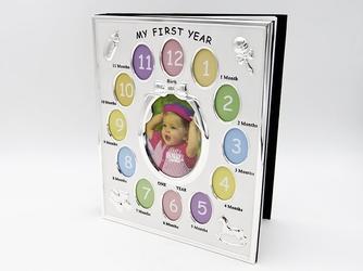 Album za zdjęcia pierwszy rok chrzest z grawerem