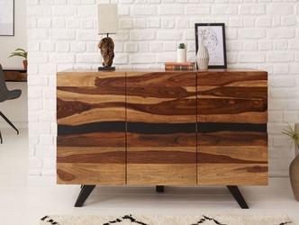 Nowoczesna komoda amazonas z drewna palisandru  szer. 150 cm