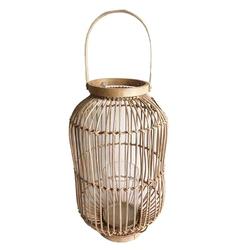 Lampion  latarenka rattanowa altom design 24 x 41 cm