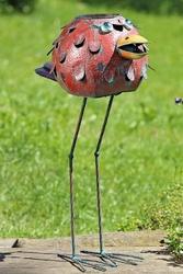 Donica ogrodowa ptak