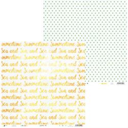 Papier do scrapbookingu Summertime 30,5x30,5 cm 05 - 05  Produkt Polski    Wielka Wyprzedaż