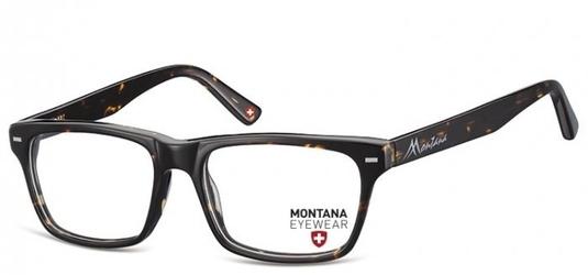 Okulary oprawki optyczne, korekcyjne montana ma73a nerdy  szylkret