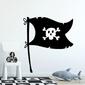 Naklejka na ścianę - pirate design , wymiary naklejki - szer. 120cm x wys. 120cm