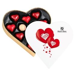 Prezent dla zakochanych sweet heart white mini