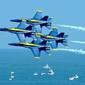 Fototapeta zespół akrobacyjny marynarki stanów zjednoczonych fp 2350
