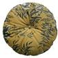 Be pure :: poduszka okrągła vogue - musztardowa