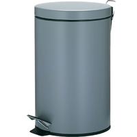 Kosz pedałowy na śmieci, 12 litrowy, Leandro Kela szary KE-10933