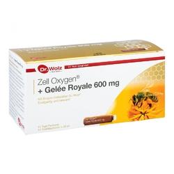 Dr wolz zell oxygen mleczko pszczele 600 mg ampułki