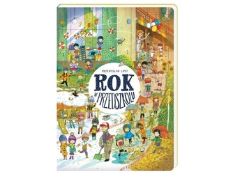Rok w przedszkolu książka w twardej okładce