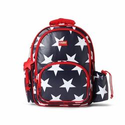 Plecak z kieszeniami, Gwiazdy, granatowy, Penny Scallan