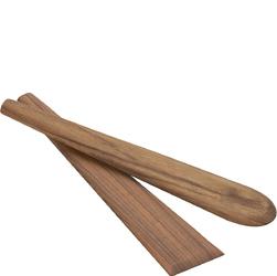 Drewniane łyżki do sałatek Skagerak drewno tekowe S1990863