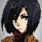 Polyamory - mikasa, attack on titan - plakat wymiar do wyboru: 42x59,4 cm