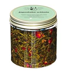 Herbata zielona o smaku japońska wiśnia 120g