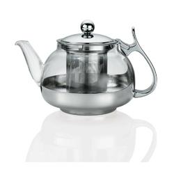 Kuchenprofi - lotus - dzbanek z zaparzaczem do herbaty, 1,20 l - 1,20 l