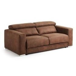 Sofa lee 210x108 cm brązowa
