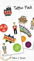 Big Bang Theory Bazinga - tatuaże